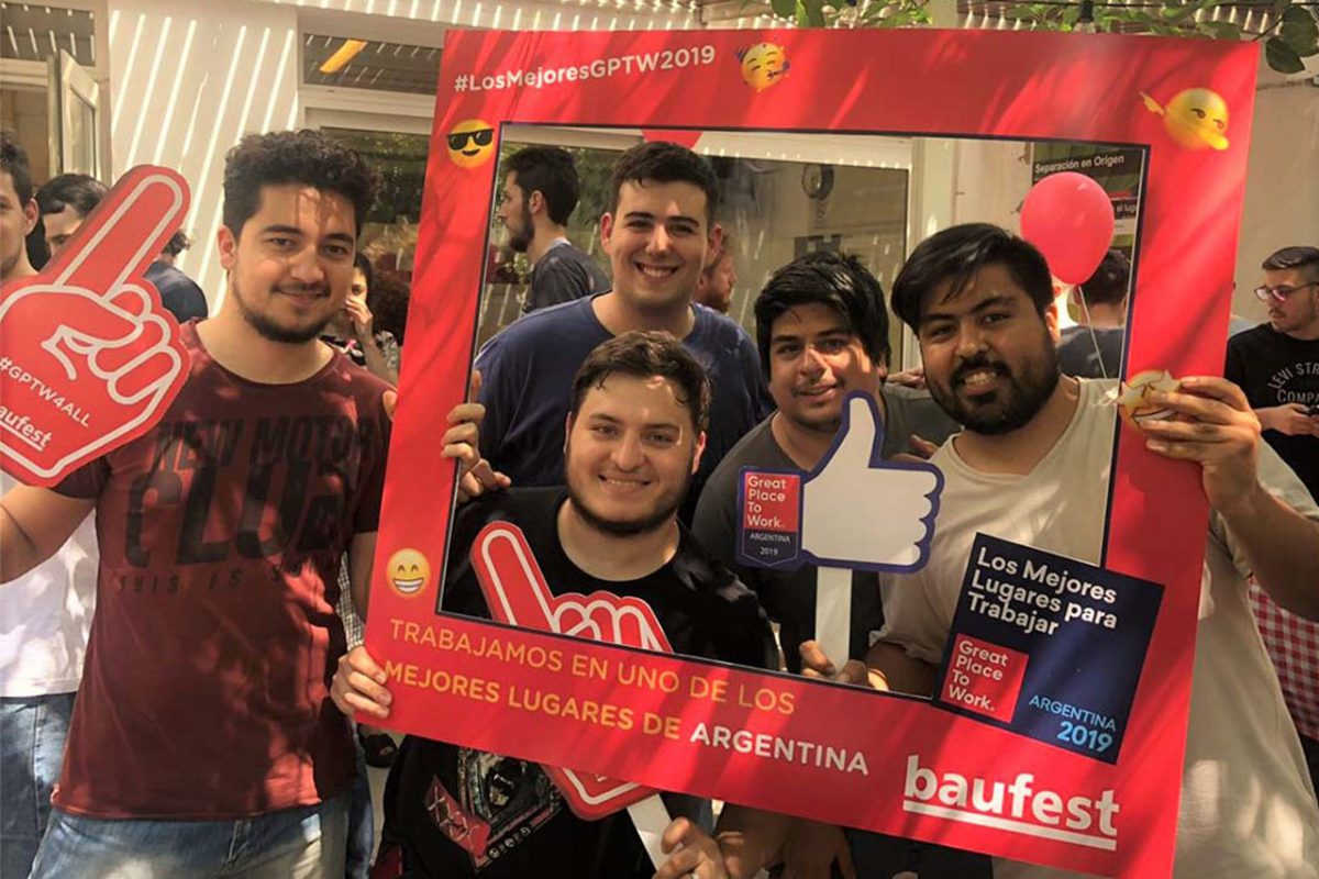 Baufest is recognized again among the best companies to work for in Argentina 2019